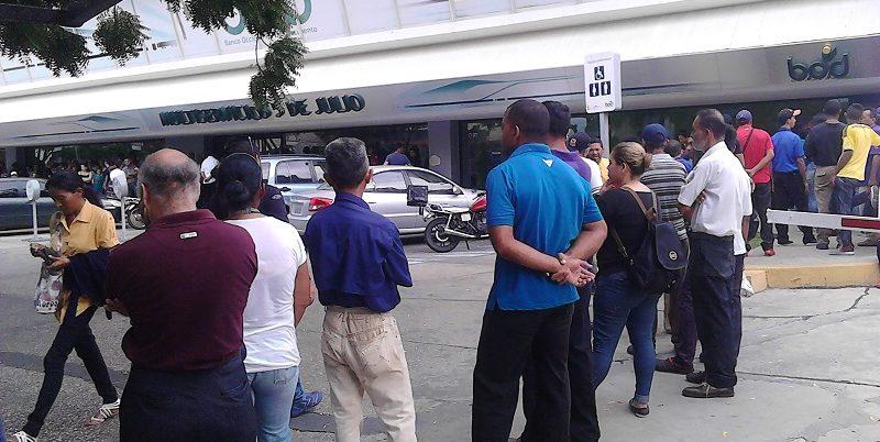 Cajeros automáticos Maracaibo reconversión bancaria