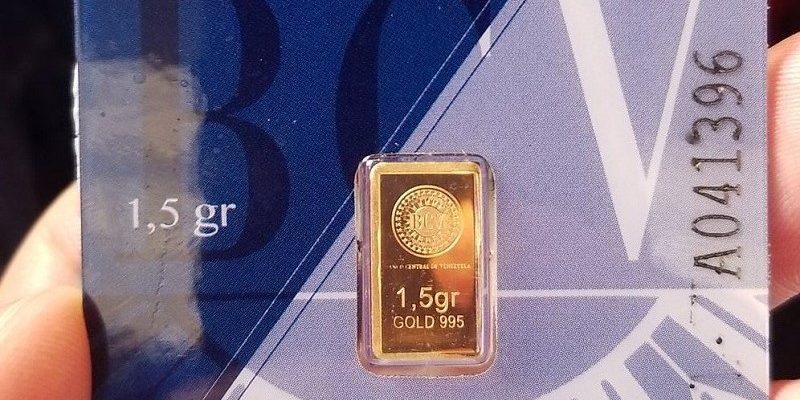 Plan nacional de ahorro lingote oro