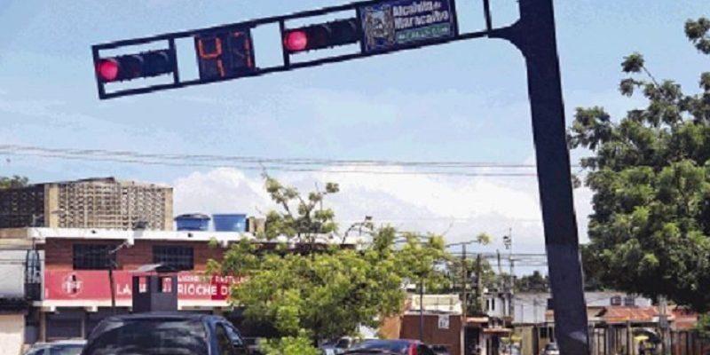 semáforos en maracaibo
