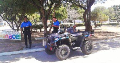 cuatrimotos patrullan
