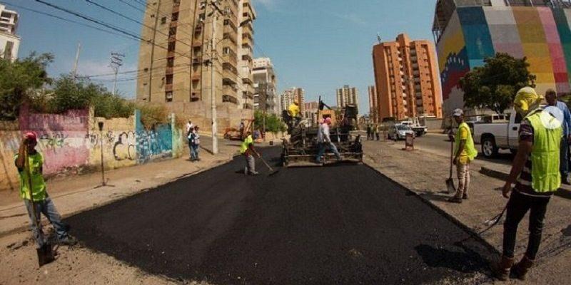 asfaltado en maracaibo